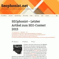 Platz 3 SEOphonist SEO Contest