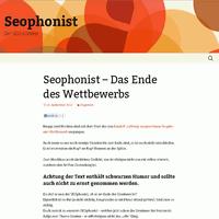 Platz 5 SEOphonist SEO Contest