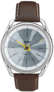 What? Calendar Watch (braun)